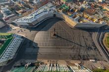 Aerial View Of  St. Petersburg...