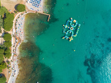 Aerial View Of A Water Sports ...
