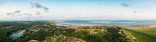 Panoramic Aerial View Of The O...