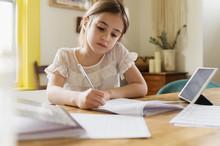 Girl (6-7)†working On School