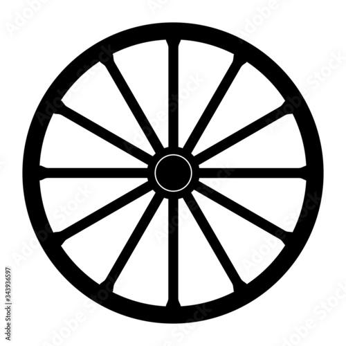 Foto Wagon wheel