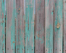 Old Wooden Fence Background. C...
