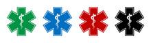 Emergency Medical Symbol. Vect...
