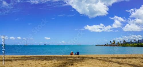 Airlie beach in North Queensland, Australia Canvas Print