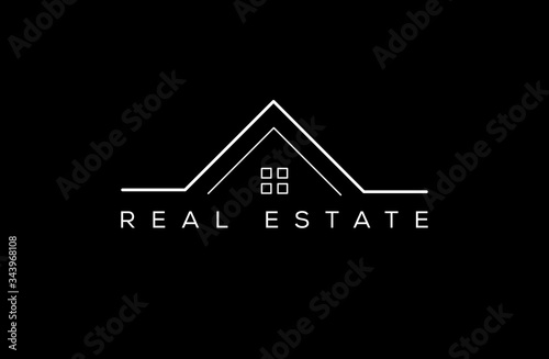 Fotografía Real estate logo,sign,icon