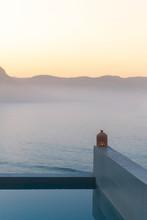 Sunrise Over An Infinity Swimm...