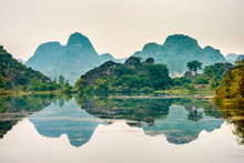 Karst Mountain Landscape, Ninh...