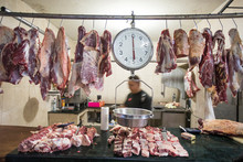 Meat And Weigh Scale Hanging I...