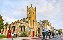 St Clement Church In Cambridge...