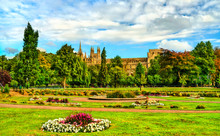 View Of Peterborough Cathedral...