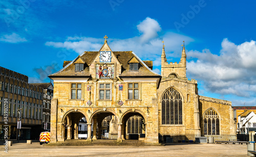 Photographie Guildhall at Cathedral Square in Peterborough, England