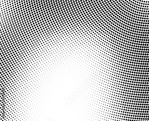 Abstract halftone background Canvas Print