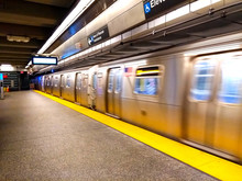 Metro In New York City.