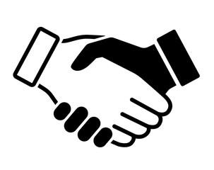 握手のアイコン