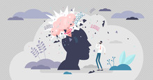 Head Explode Vector Illustrati...