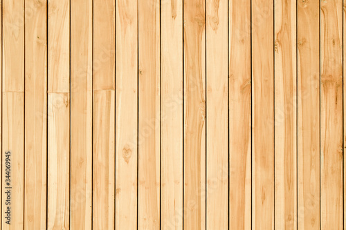 Wood texture background, wood planks or wood wall - 344069945