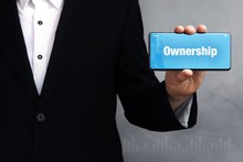 Ownership. Businessman In A Su...