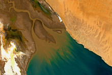 High Resolution Image Of Colorado River Delta In Mexico - Contains Modified Copernicus Sentinel Data (2019)