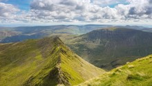 Time Lapse Of Striding Edge In...