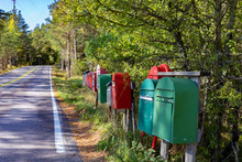 Mailboxes Row