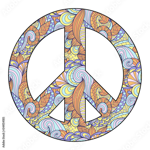 Hippie style Canvas Print