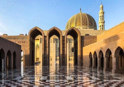 Foto Oman, Sultanat, architecture, mosquée, bâtiment, religions, voyage, domes, house