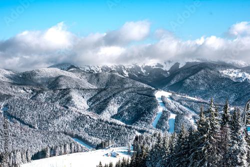 Winter activities, skiing #344160754