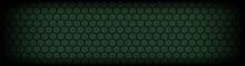 Dark Green Perforated Material...