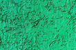 Leinwanddruck Bild - Texture of green concrete or plastered wall. Abstract background for design with copy space for text.