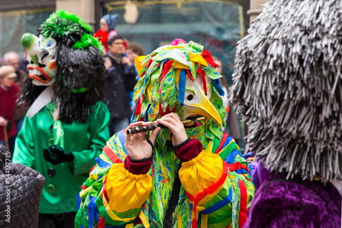 Person Wearing Costume During Carnival Fototapete