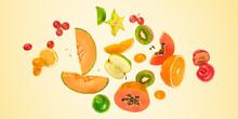 Flying Fruits Healthy Summer C...