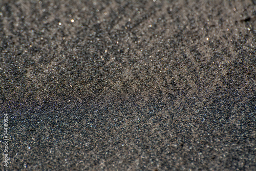 black sand  texture background