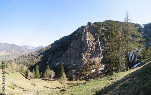 Photo Abstieg vom Brandelberg