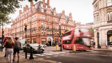 Motion Blurred London Street S...