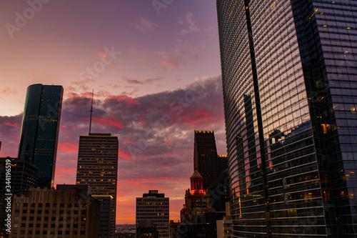 Burning City Sunset II