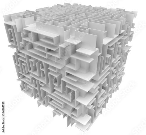 Fotografie, Obraz bâtiment, ville, architecture, gratte-ciel, affaires, bureau, ciel, bâtiment, en