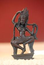 Bronze Thai Lady Dancing Statue