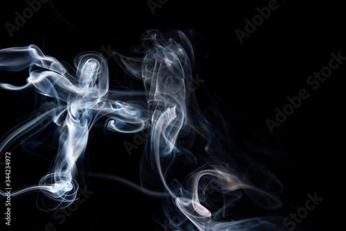 cruz de humo Canvas Print
