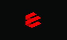 Abstract Letter E Logo Design....