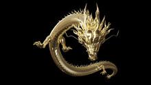 Full Body Gold Dragon In Smart...