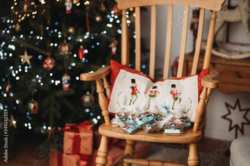 Obraz święta boże narodzenie pierniki - fototapety do salonu