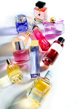 Colorful Glass Perfume Bottles