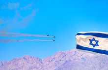 Streaming Israeli Flag And Air...