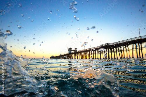 Photo Pier de Oceanside - Splash