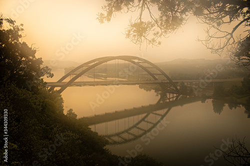 Austin Morning Canvas Print