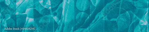 Photo abstract turquoise, celadon and aquamarine colors background for design