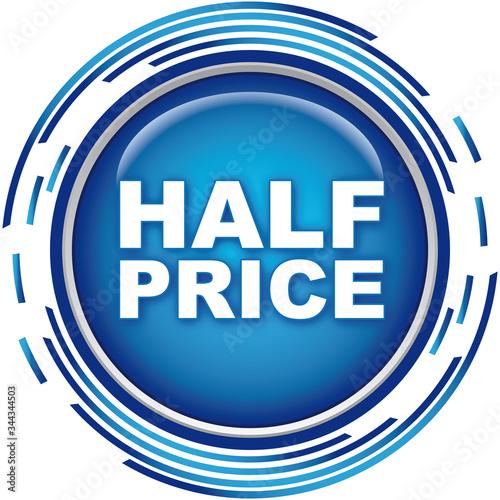 Tela half price icon