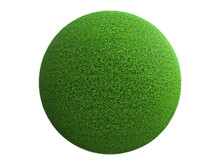 Fantasy Globe Planet With Gree...