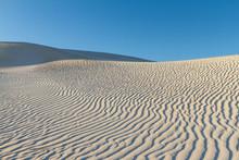 White Sand Dunes In Western Au...