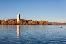 View Of The National Carillon Canberra